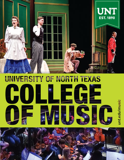 College of Music viewbook cover