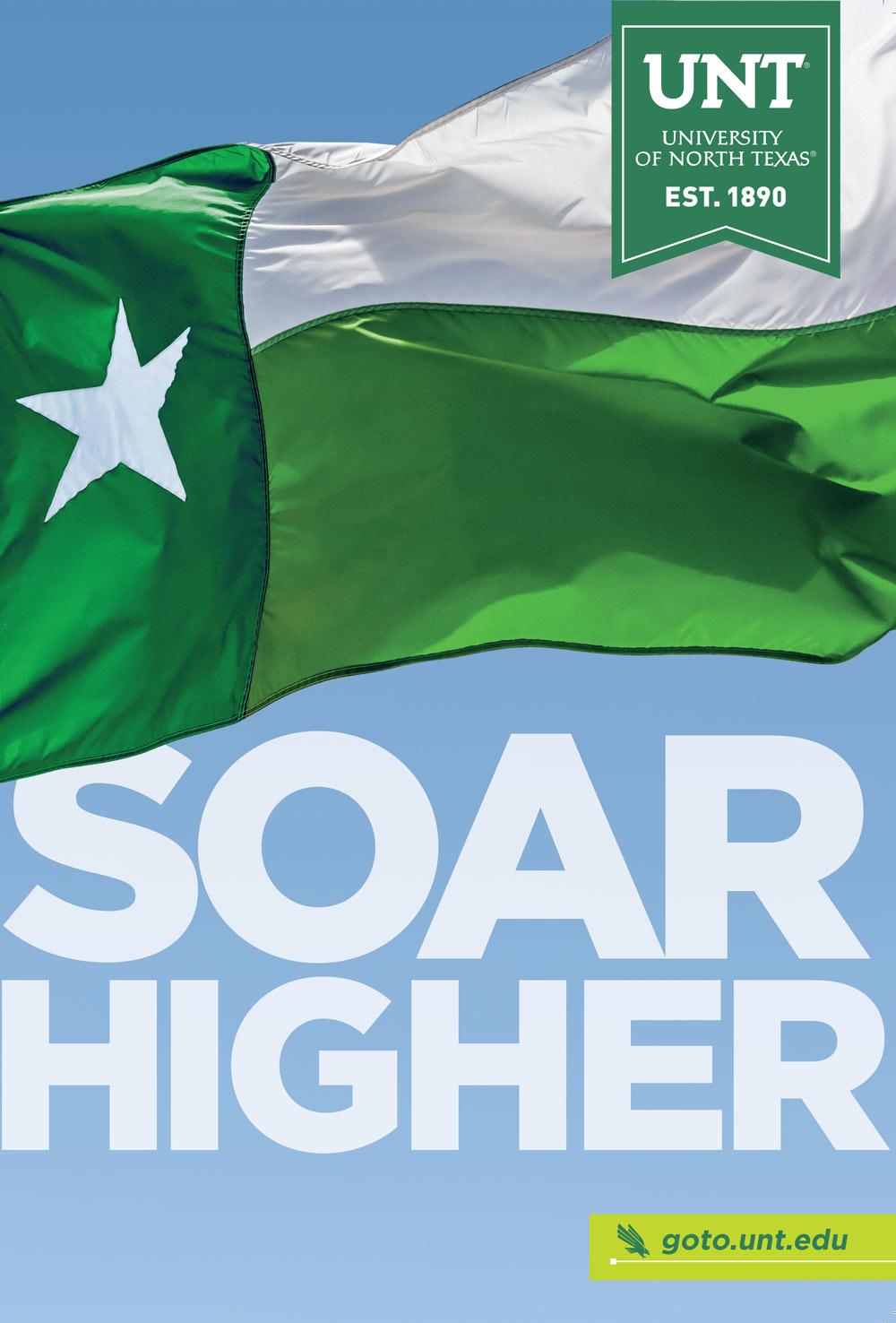 Soar Higher Viewbook cover