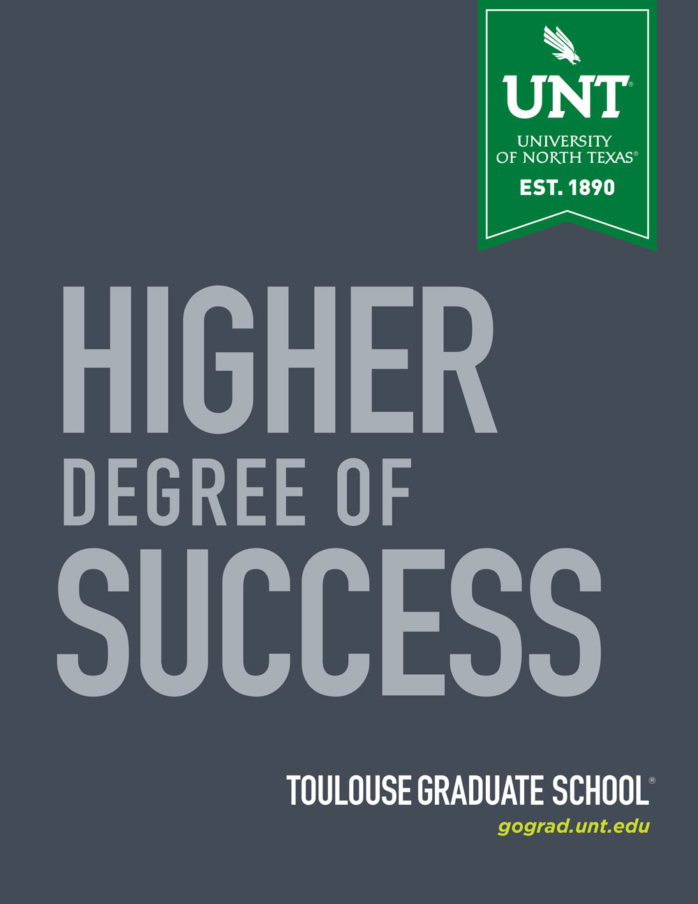 Graduate Viewbook cover