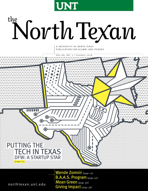 North Texan magazine cover
