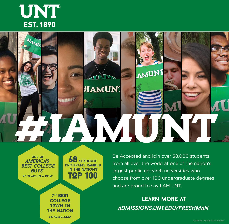 #IAMUNT Print Ad