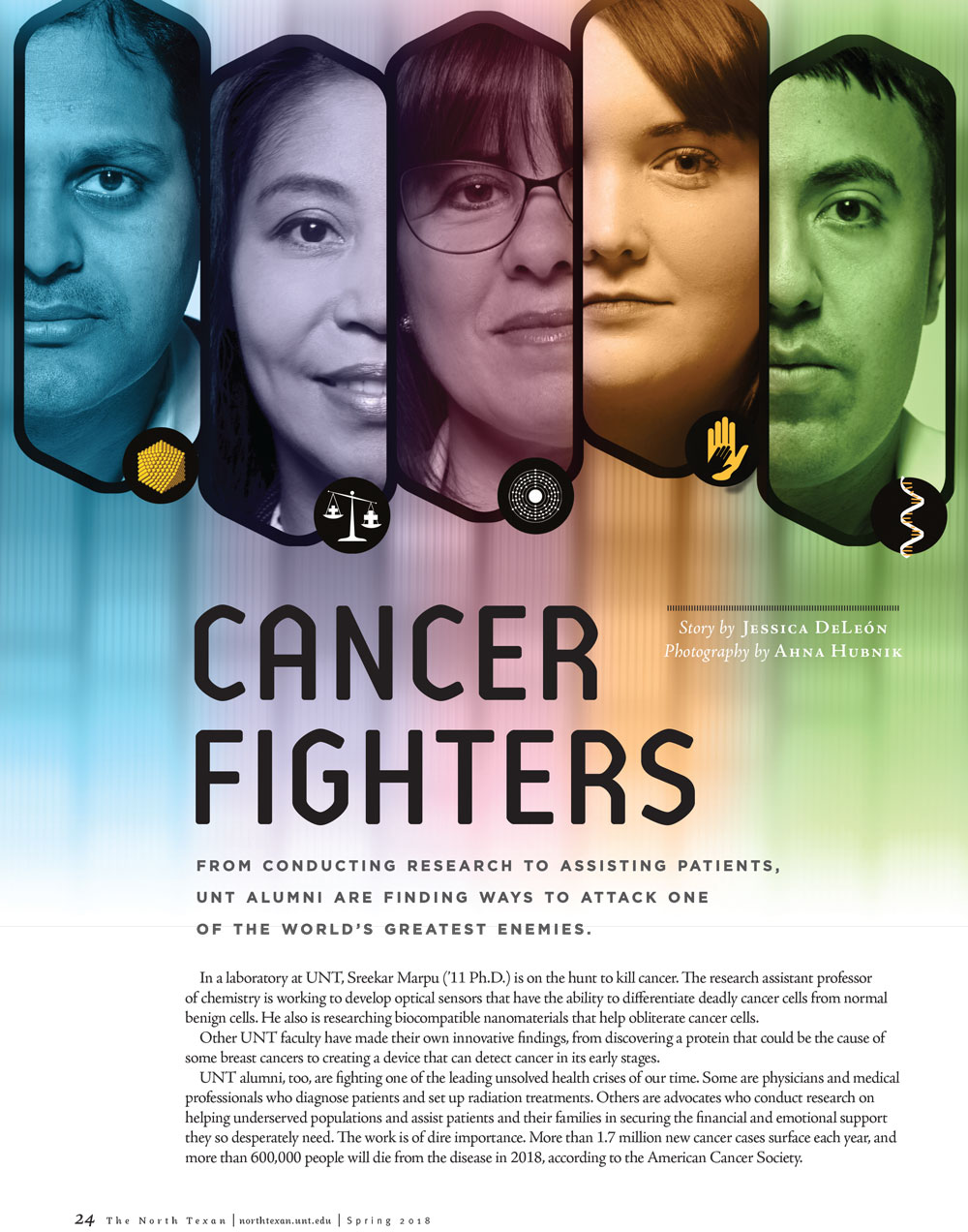 Cancer Fighters article