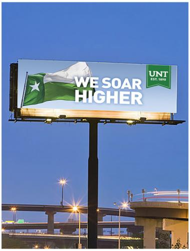 We Soar Higher Billboard Ad