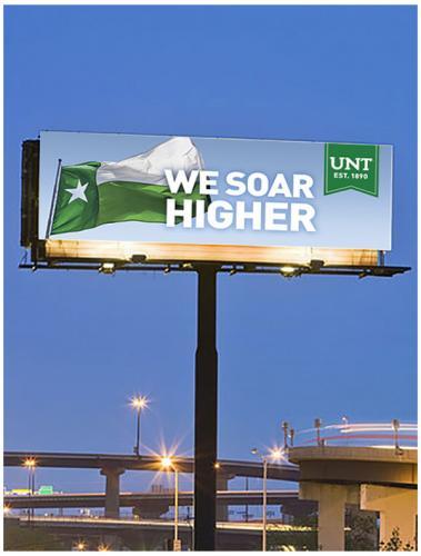 We Soar Higher Billboard Ad